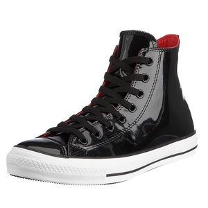 Converse All Star Chucks Black Patent Leather - 14